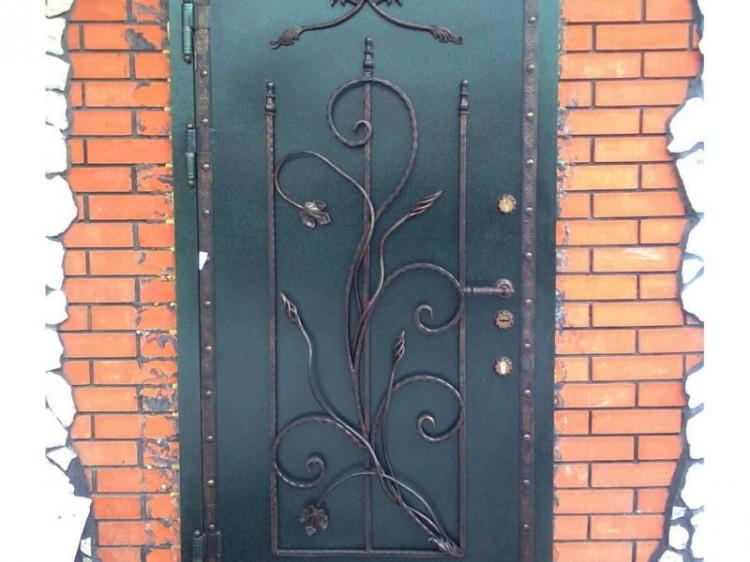 Железных дверей своими руками фото